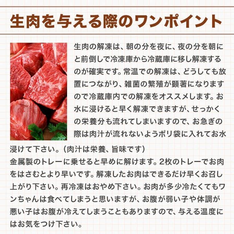 【2Pセット】馬肉パラパラミンチ 1kg(500g×2Pセット) ※冷凍バラ凍結です ペット用馬肉 (生馬肉) ※同梱包は合計10kgまでです。|meat-gen|20