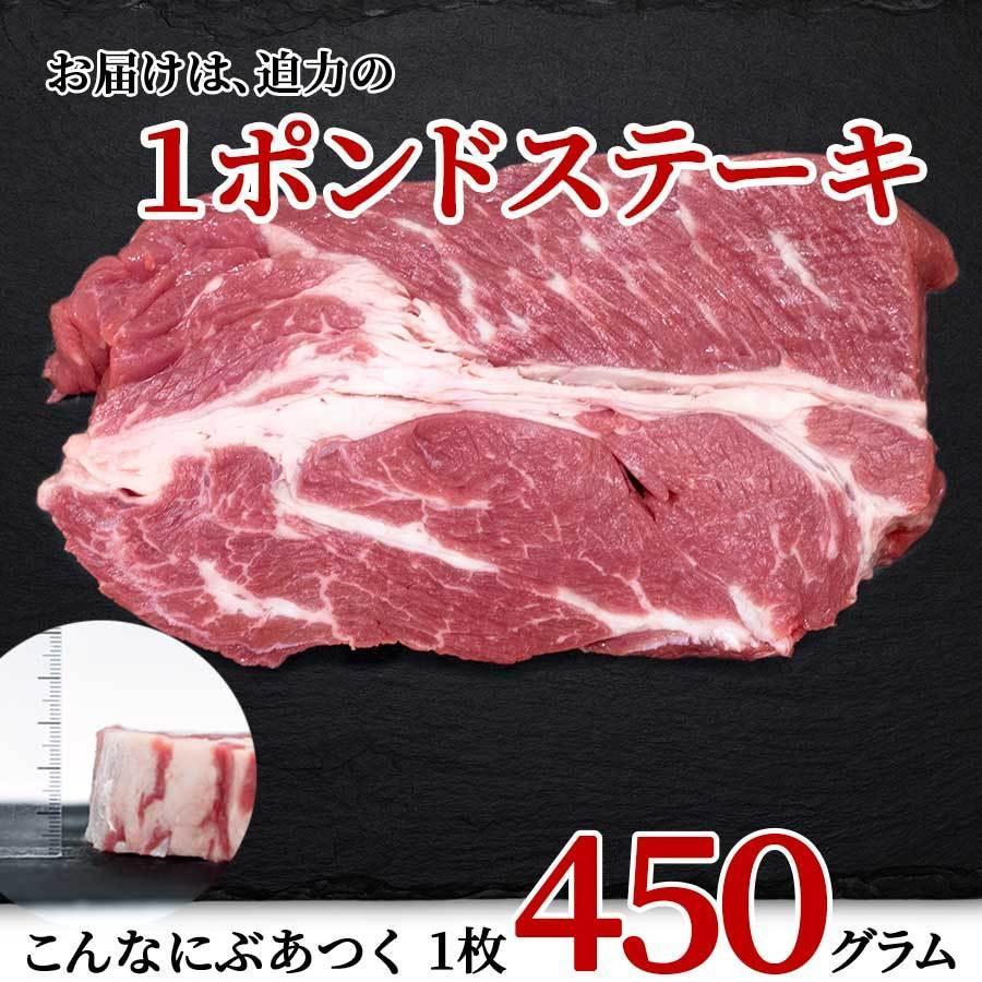 肉 お肉 1ポンド ステーキ 牛肉 アメリカ 450g 冷凍 チョイス お月見 十三夜 プレゼント 2021 ギフト meat-miyazaki 10