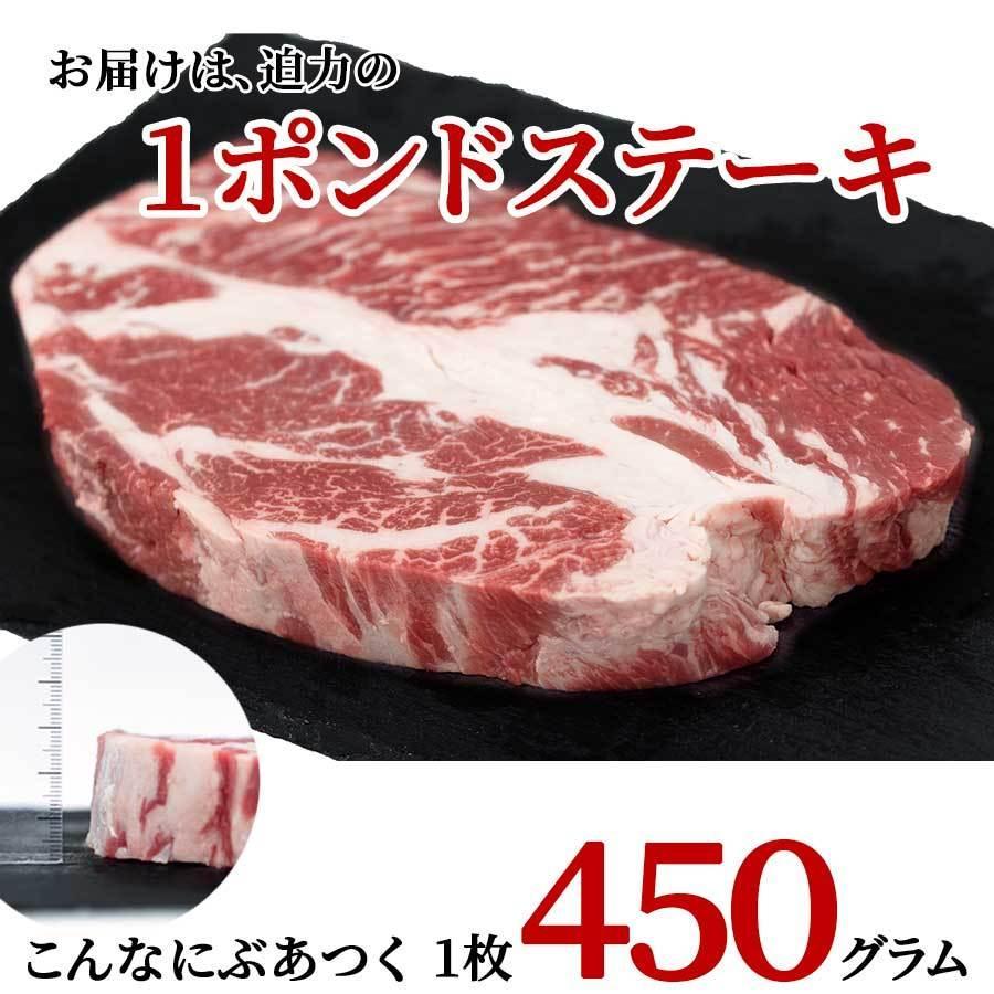 お歳暮 御歳暮 肉 お肉 1ポンド ステーキ 牛肉 アメリカ 450g 冷凍 プライム プレゼント 2021 ギフト|meat-miyazaki|10