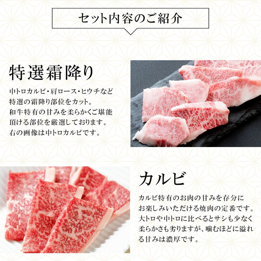 肉 牛肉 A5ランク 和牛 特上 焼肉 5種盛り 焼肉セット 1kg 国産 A5等級 高級 焼き肉 BBQ バーベキュー|meat-tamaya|05