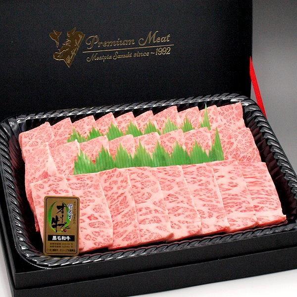 和牛 焼肉 カルビ焼き肉 600g ギフト用木箱入 香川 オリーブ牛(讃岐牛) 国産 和牛肉 A5等級 ばら バラ|meatpiasanuki
