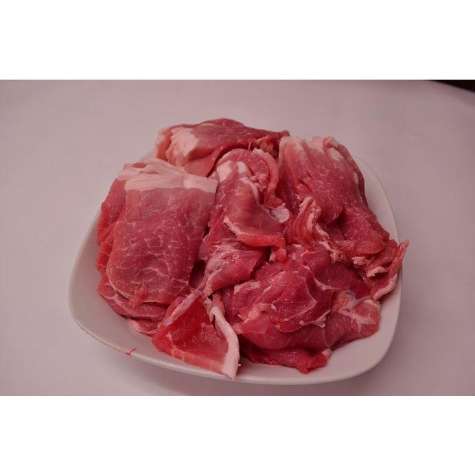 豚肉 訳あり 国産 豚もも スライス 切り落とし 500g(真空パック)|meatshopitou298|04