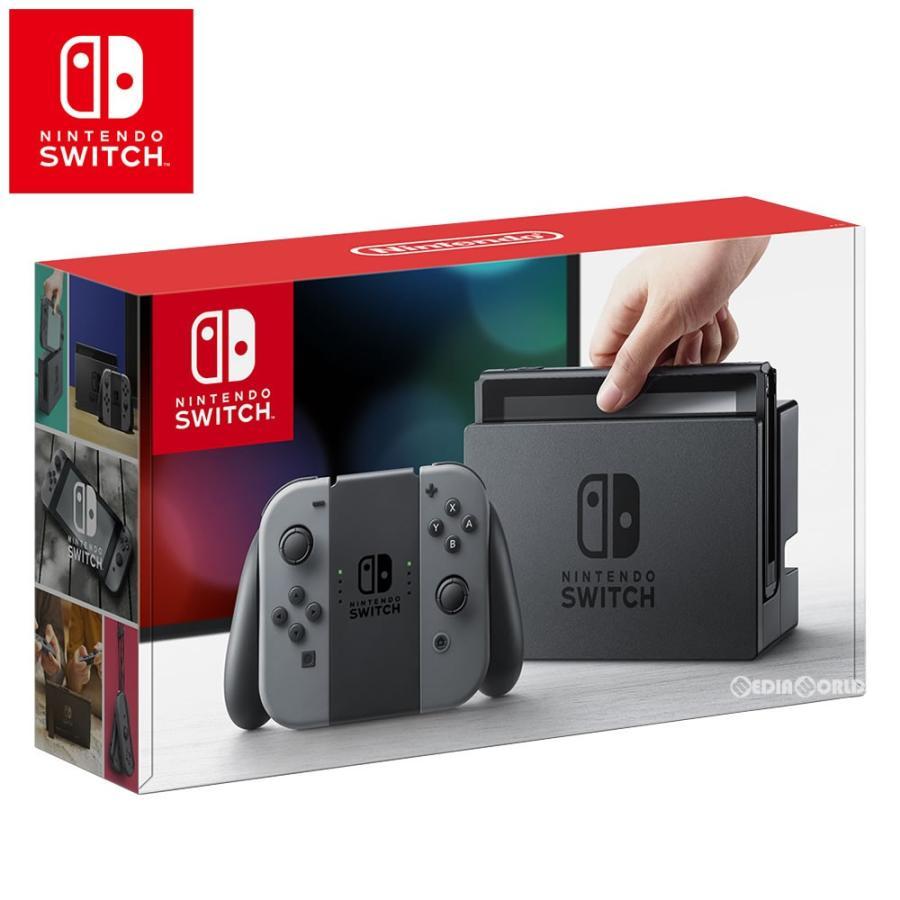 『中古即納』{B品}{本体}{Switch}Nintendo Switch(ニンテンドースイッチ) Joy-Con(L)/(R) グレー(HAC-S-KAAAA)(20170303)