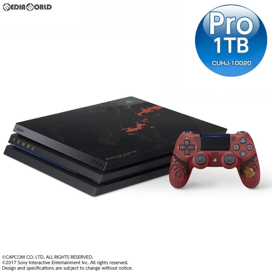 『新品即納』{本体}{PS4}プレイステーション4 プロ PlayStation4 Pro MONSTER HUNTER: WORLD LIOLAEUS EDITION(モンスターハンター:ワールド LE)(CUHJ-10020)