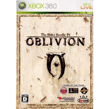 『中古即納』{Xbox360}The Elder Scrolls IV: Oblivion(ジ・エルダー・スクロールズ4 オブリビオン)(20070726)|media-world