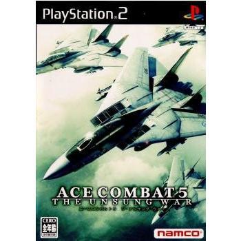 中古即納 {PS2}エースコンバット5 ジ ストア アンサング ウォー ACE 5 COMBAT WAR 20041021 高品質新品 UNSUNG THE