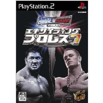 『中古即納』{表紙説明書なし}{PS2}エキサイティングプロレス7 SMACKDOWN! VS. RAW 2006(20060202)|media-world