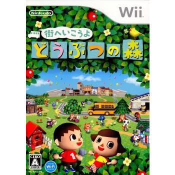 中古即納 {表紙説明書なし}{Wii}街へいこうよ どうぶつの森 20081120 送料0円 Wiiスピーク同梱版 上等