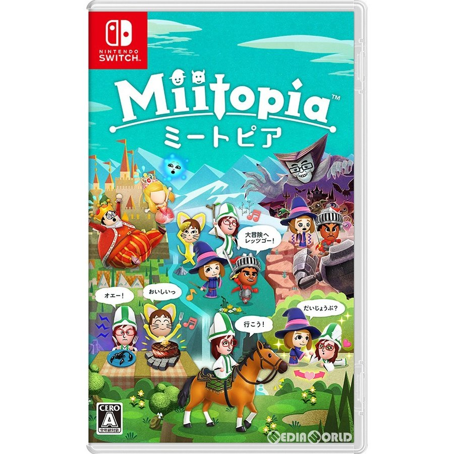 『中古即納』{Switch}Miitopia(ミートピア)(20210521) media-world