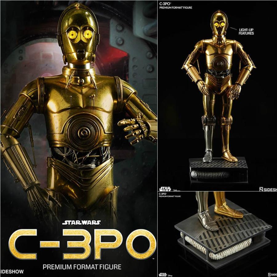 『新品即納』{FIG}プレミアム・フォーマット・フィギュア C-3PO スター・ウォーズ 完成品 フィギュア サイドショウ(20160421)