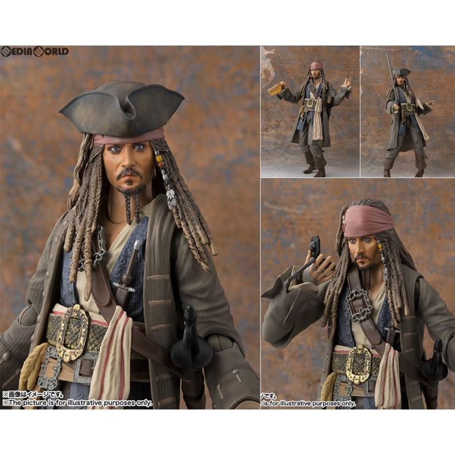 『新品即納』{FIG}S.H.Figuarts(フィギュアーツ) キャプテン ジャック・スパロウ パイレーツ・オブ・カリビアン/最後の海賊 フィギュア バンダイ(20170715)