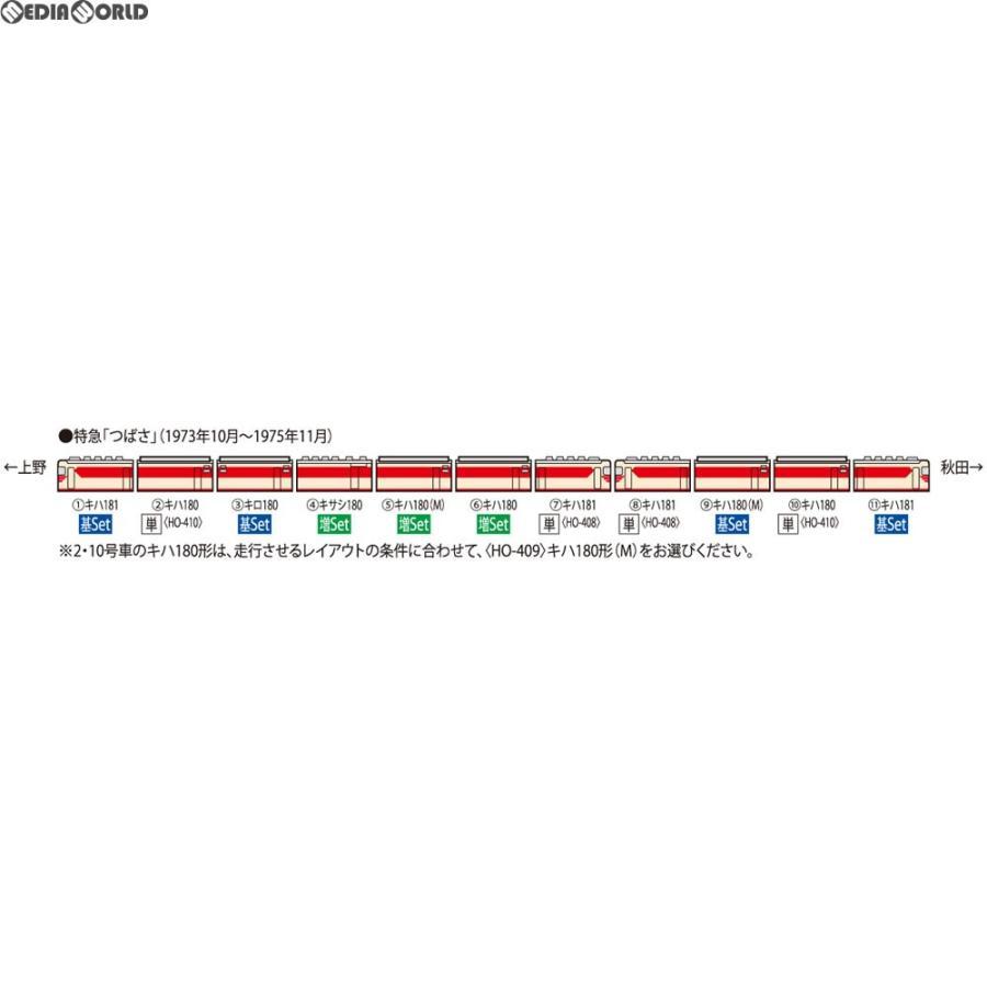 『新品即納』{RWM}HO-9033 国鉄 キハ181系特急ディーゼルカー増結セット(3両) HOゲージ 鉄道模型 TOMIX(トミックス)(20180331)