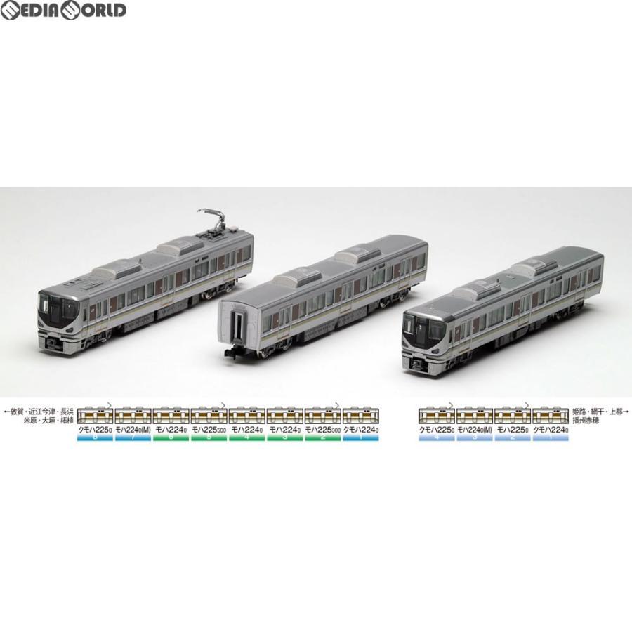 『新品』『O倉庫』{RWM}(再販)92420 JR 225-0系近郊電車基本セットA(3両) Nゲージ 鉄道模型 TOMIX(トミックス)(20180601)