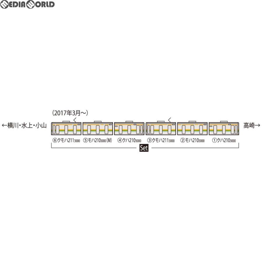 『新品』『O倉庫』{RWM}98646 JR 211-3000系近郊電車(高崎車両センター・6両編成)セット(6両) Nゲージ 鉄道模型 TOMIX(トミックス)(20180927)