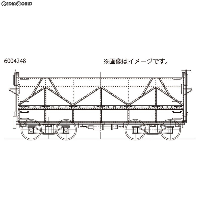 『新品即納』{RWM}16番 国鉄 セキ1形 石炭車 タイプA 組立キット HOゲージ 鉄道模型 ワールド工芸(20180731)