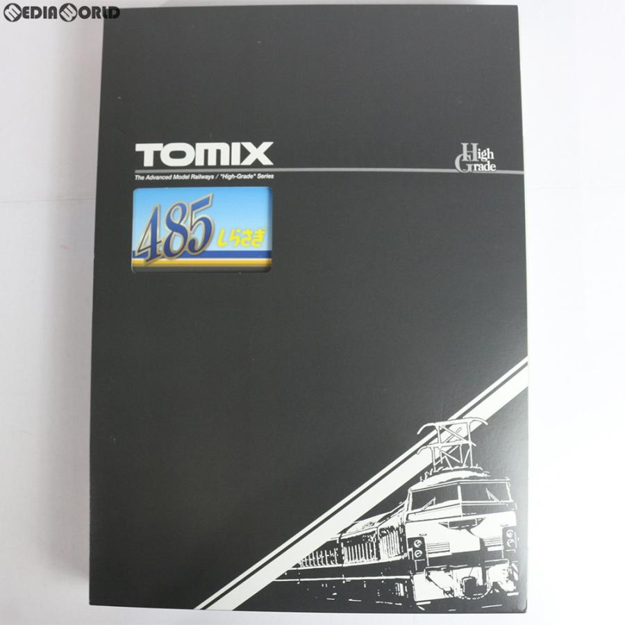 『中古即納』{RWM}98652 JR 485系特急電車(しらさぎ・新塗装)セットC(3両) Nゲージ 鉄道模型 TOMIX(トミックス)(20181101)