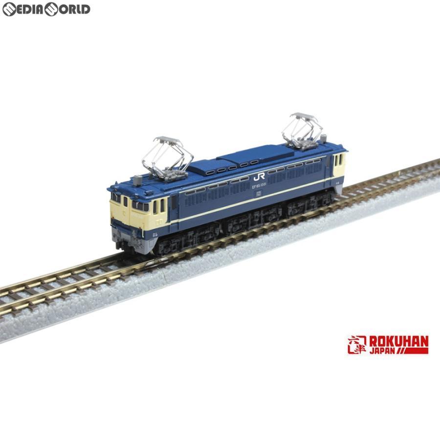 『新品即納』{RWM}T035-1 国鉄 EF65形電気機関車1000番代 1001号機 Zゲージ 鉄道模型 ROKUHAN(ロクハン/六半)(20190927)