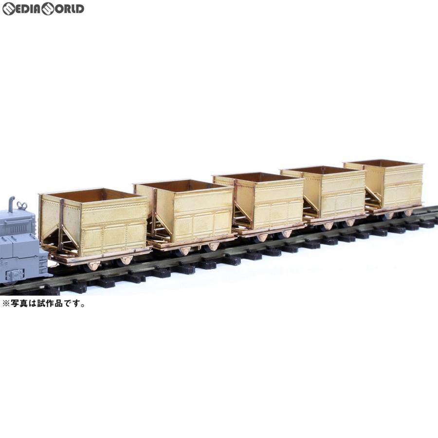『新品即納』{RWM}(再販)唐沢原石軌道 鉱車 5輌セット 組立キット HOナローゲージ 鉄道模型 ワールド工芸(20190630)