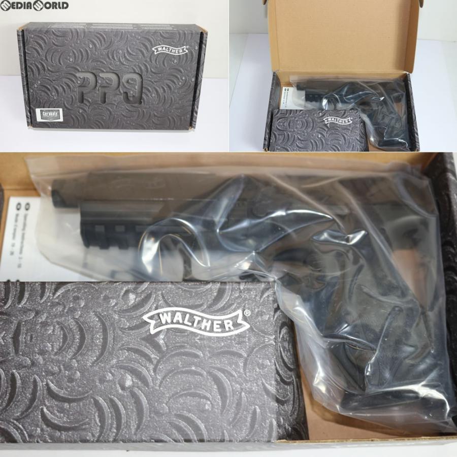 『新品即納』{MIL}Umarex(ウマレックス) ガスブローバック Walther(ワルサー) PPQ M2 GBBハンドガン BK ブラック Cerakote version (18歳以上専用)(20170906)