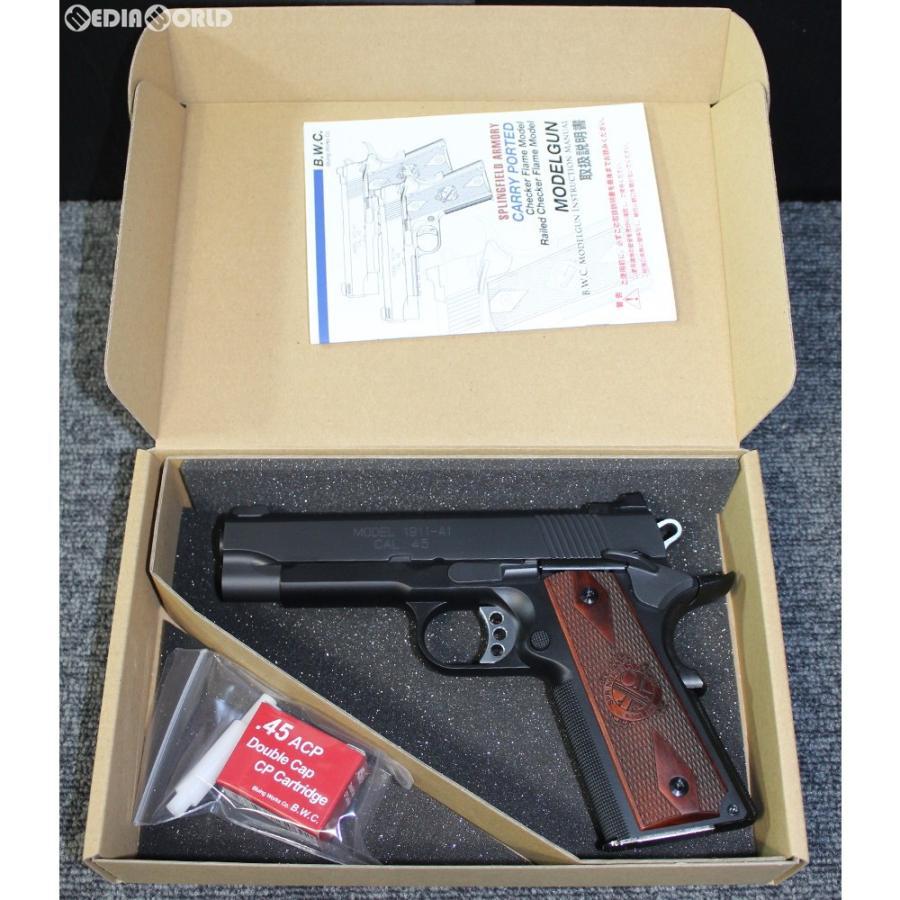 『新品即納』{MIL}B.W.C. ブルーイングワークスコーポレーション 限定品 発火モデルガン SFA スプリングフィールドアーモリー M1911A1 キャリーポーテッドモデル