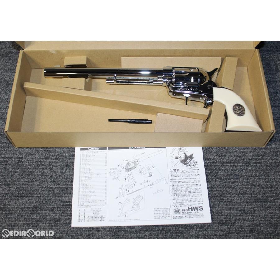 『新品即納』{MIL}ハートフォード(HWS) モデルガン LEIJI SMALL ARMS COLLECTION(レイジ スモール アームズ コレクション) GUN FRONTIER SIX SHOOTER(20190419)