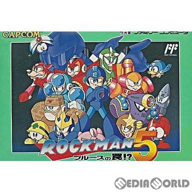 中古即納』{FC}ロックマン5(ROCKMAN 5) ブルースの罠!?(19921204 ...