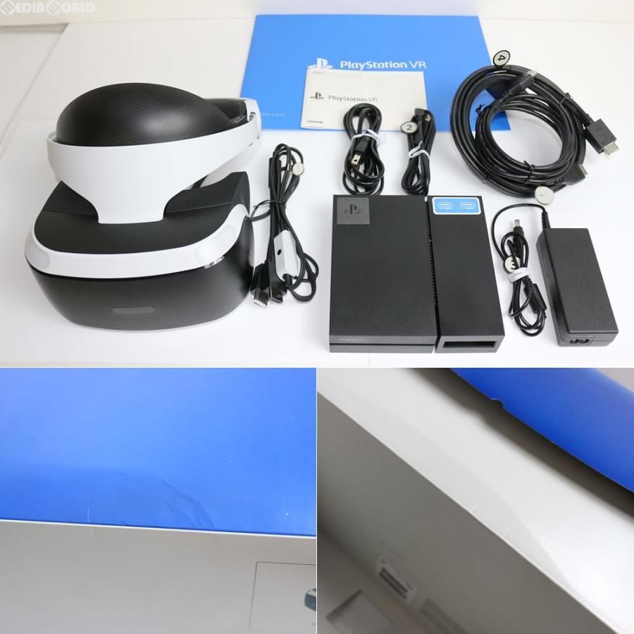 『中古即納』{訳あり}{OPT}PlayStation VR(プレイステーションVR PSVR) ソニー(CUHJ-16000)(20161013)