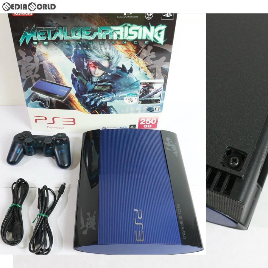 『中古即納』{訳あり}{本体}{PS3}PlayStation3 プレイステーション3 METAL GEAR RISING REVENGEANCE 斬奪 PACKAGE HDD250GB(VT066-J1)(20130221)