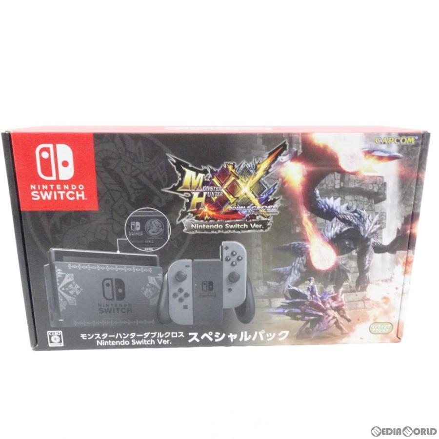 『中古即納』{訳あり}{本体}{Switch}モンスターハンターダブルクロス Nintendo Switch Ver.(ニンテンドースイッチバージョン) スペシャルパック(HAC-S-KCAEB)|media-world|07