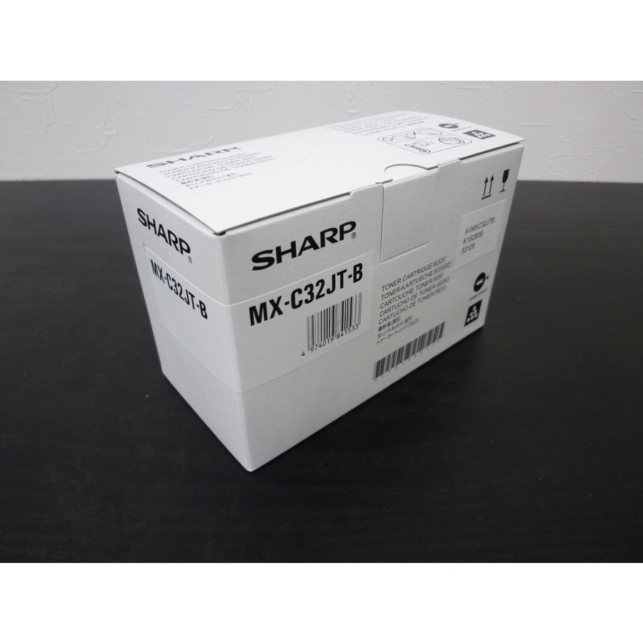 シャープ MX-C32JT-B 黒 ブラック 予約販売品 ☆送料無料☆ 当日発送可能 MX-C302W フルカラー複合機 純正トナー 対応