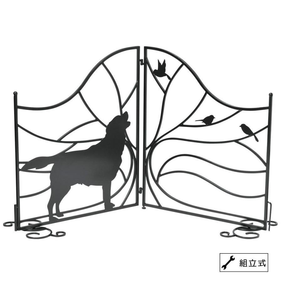 セトクラフト シルエットゲート(Tree&Dog) SI-1957-1300 代引き不可/同梱不可
