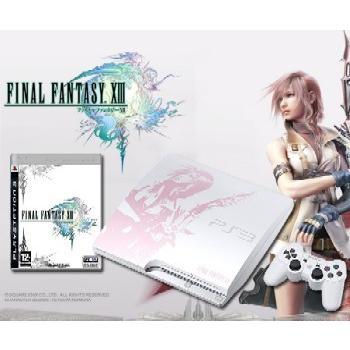 『中古即納』{本体}{PS3}プレイステーション3 PlayStation 3 250GB FINAL FANTASY XIII(ファイナルファンタジー13) LIGHTNING EDITION(CEJH-10008)(20091217)