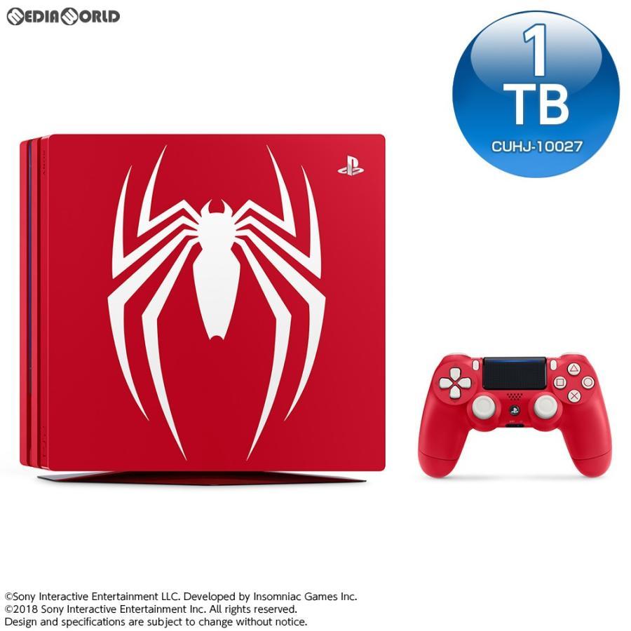 『新品即納』{本体}{PS4}特典付 プレイステーション4 プロ PlayStation 4 Pro Marvel's Spider-Man(マーベル スパイダーマン) Limited Edition(CUHJ-10027)