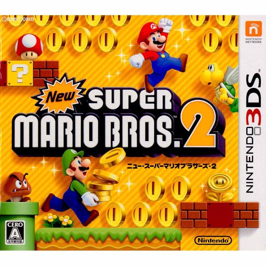 『中古即納』{3DS}New(ニュー) スーパーマリオブラザーズ2(20120728) mediaworld-plus