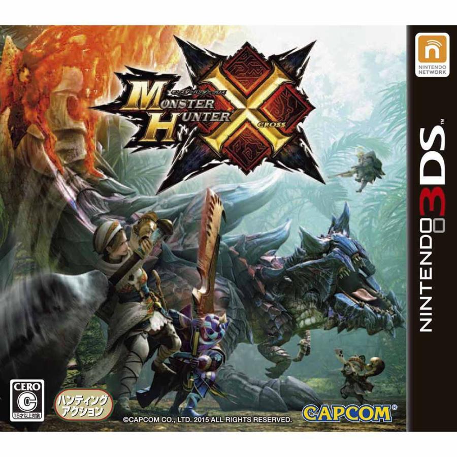 『中古即納』{3DS}モンスターハンタークロス(MONSTER HUNTER X)(モンハンX/MHX)(20151128) mediaworld-plus