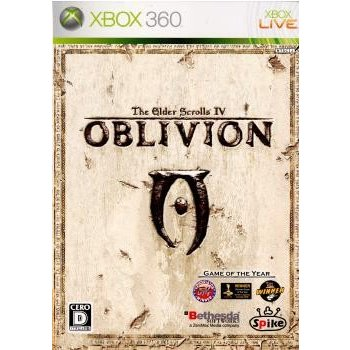 『中古即納』{Xbox360}The Elder Scrolls IV: Oblivion(ジ・エルダー・スクロールズ4 オブリビオン)(20070726)|mediaworld-plus
