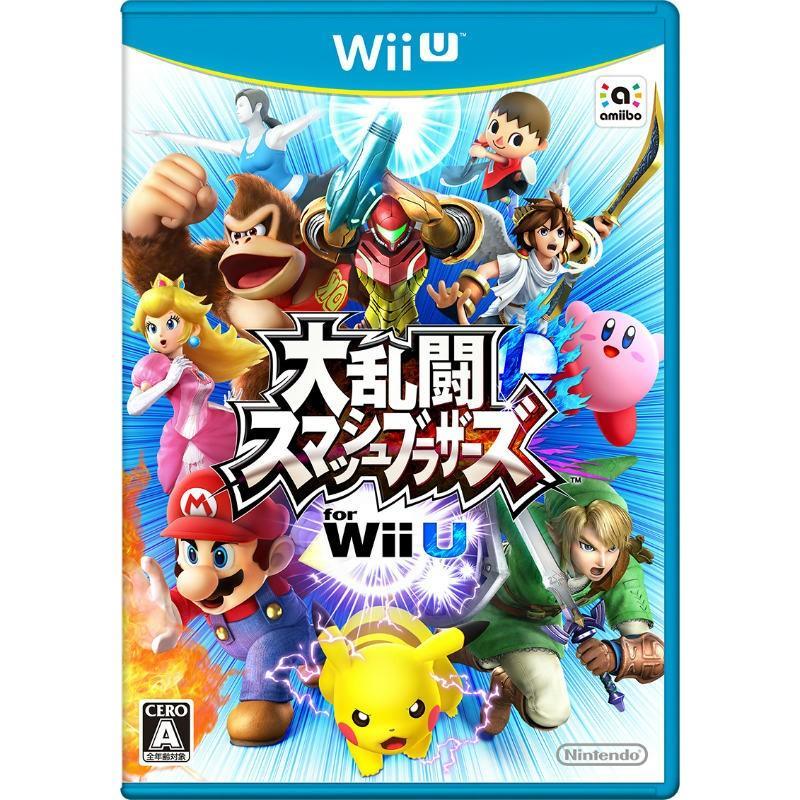 中古即納 卸直営 {表紙説明書なし}{WiiU}大乱闘スマッシュブラザーズ 日本メーカー新品 for Wii 20141206 通常版 U