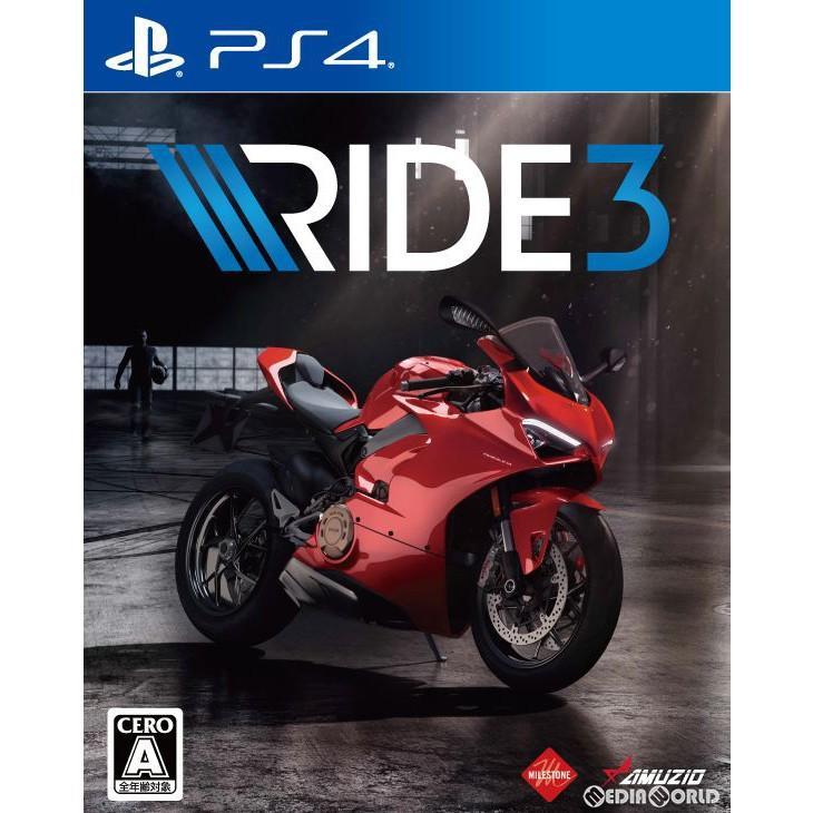 『新品即納』{PS4}早期購入特典付(「スポーツバイクパック」DLCコード) RIDE3(ライド3)(20190228)