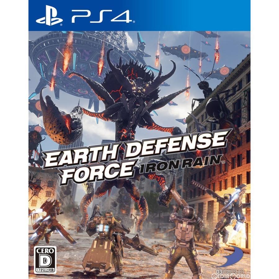 『中古即納』{PS4}EARTH DEFENSE FORCE: IRON RAIN(アース ディフェンス フォース:アイアン レイン)(20190411)|mediaworld-plus