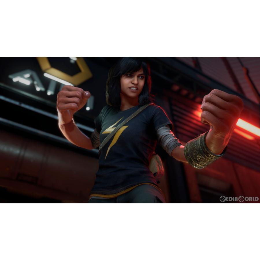 『中古即納』{PS4}Marvel's Avengers(アベンジャーズ)(20200904) mediaworld-plus 06