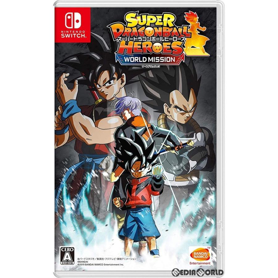 『中古即納』{Switch}スーパードラゴンボールヒーローズ ワールドミッション(Super Dragonball Heroes: World Mission)(20190404)|mediaworld-plus
