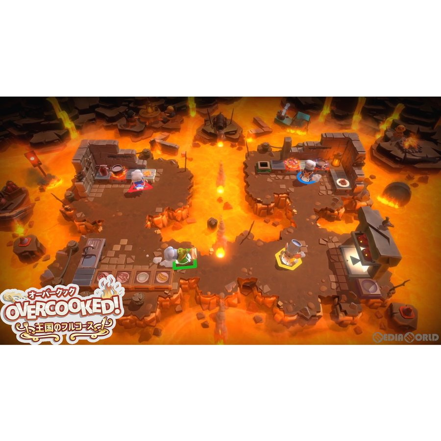 『中古即納』{PS5}Overcooked!(オーバークック!) 王国のフルコース(20201217) mediaworld-plus 06