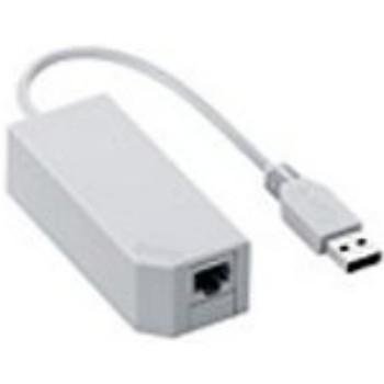 『中古即納』{ACC}{Wii}Wii専用 LANアダプタ(Wii U対応) 任天堂(RVL-A-UE/RVL-015)(20061230) mediaworld-plus