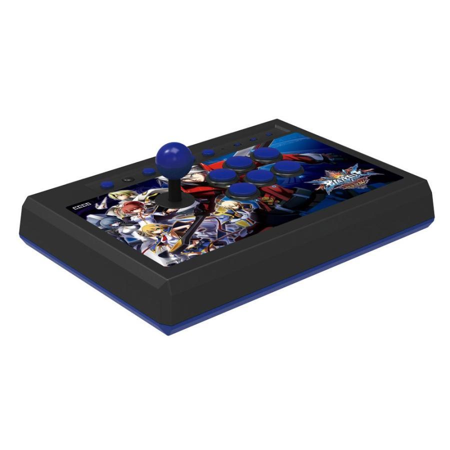 『新品即納』{OPT}限定封入特典付 BLAZ青 CHRONOPHANTASMA EXTEND対応スティック for PlayStation4 / PlayStation3 ホリ(PS4-032)(20150423)