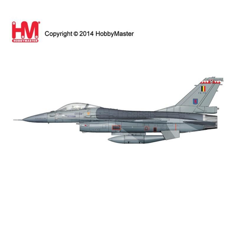 『新品即納』{PTM}HA3853 1/72 F-16AM ブロック15 ベルギー空軍 完成品 ホビーマスター(20141207)