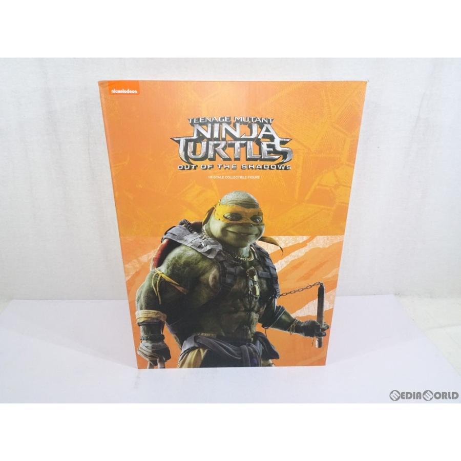 『中古即納』{FIG}MICHELANGELO(ミケランジェロ) Teenage Mutant Ninja Turtles:Out of the Shadows 1/6 可動フィギュア(海外流通版) threezero(スリーゼロ)
