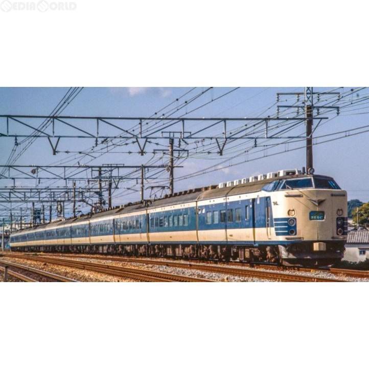 『新品』『O倉庫』{RWM}98968 限定品 JR 583系特急電車(きたぐに・国鉄色)セット(10両) Nゲージ 鉄道模型 TOMIX(トミックス)(20170617)