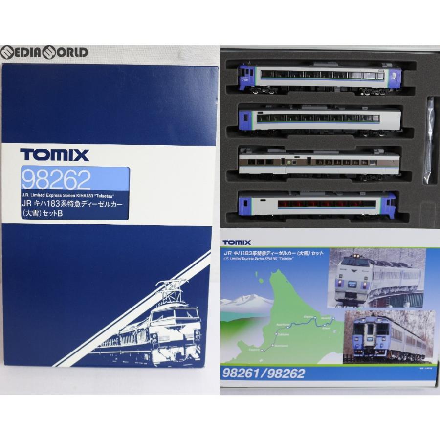 『中古即納』{RWM}98262 JR キハ183系特急ディーゼルカー(大雪)セットB(4両) Nゲージ 鉄道模型 TOMIX(トミックス)(20180331)