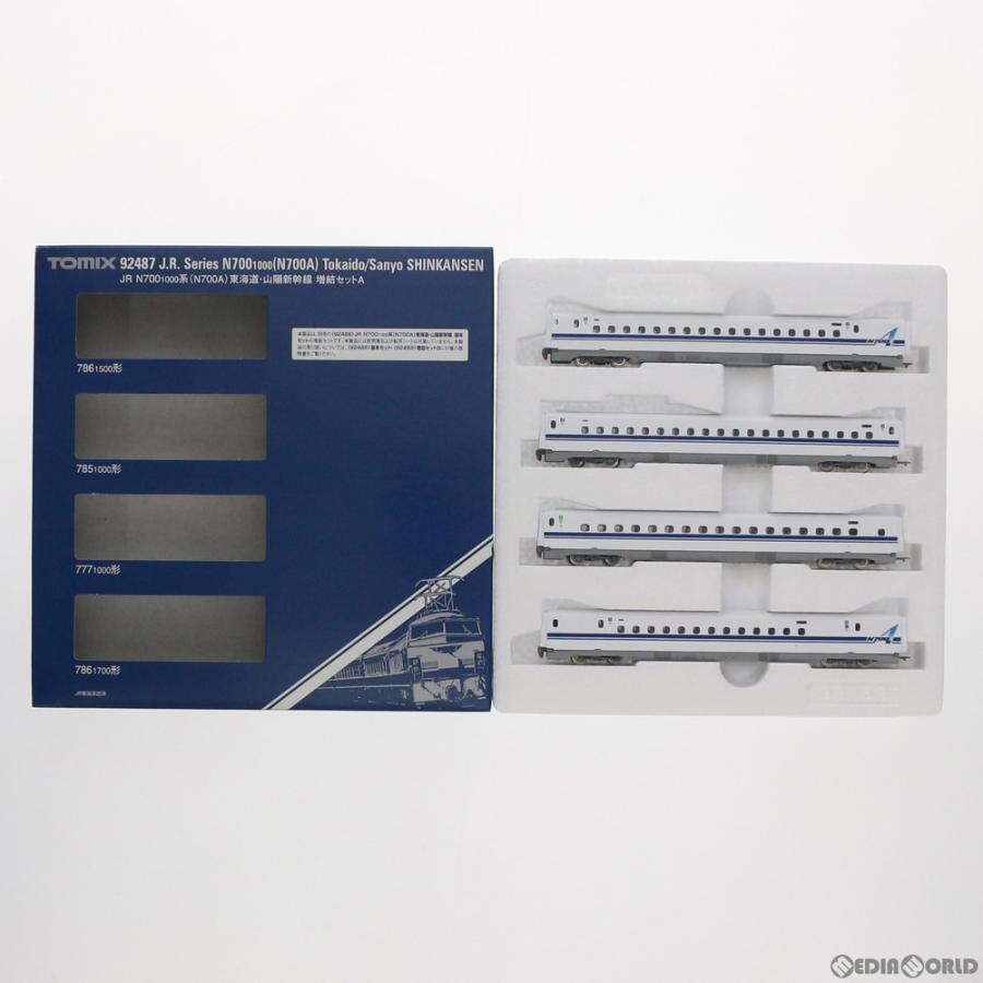 『新品』『O倉庫』{RWM}92487 JR N700-1000系(N700A) 東海道・山陽新幹線 増結セットA(4両) Nゲージ 鉄道模型 TOMIX(トミックス)(20130930)