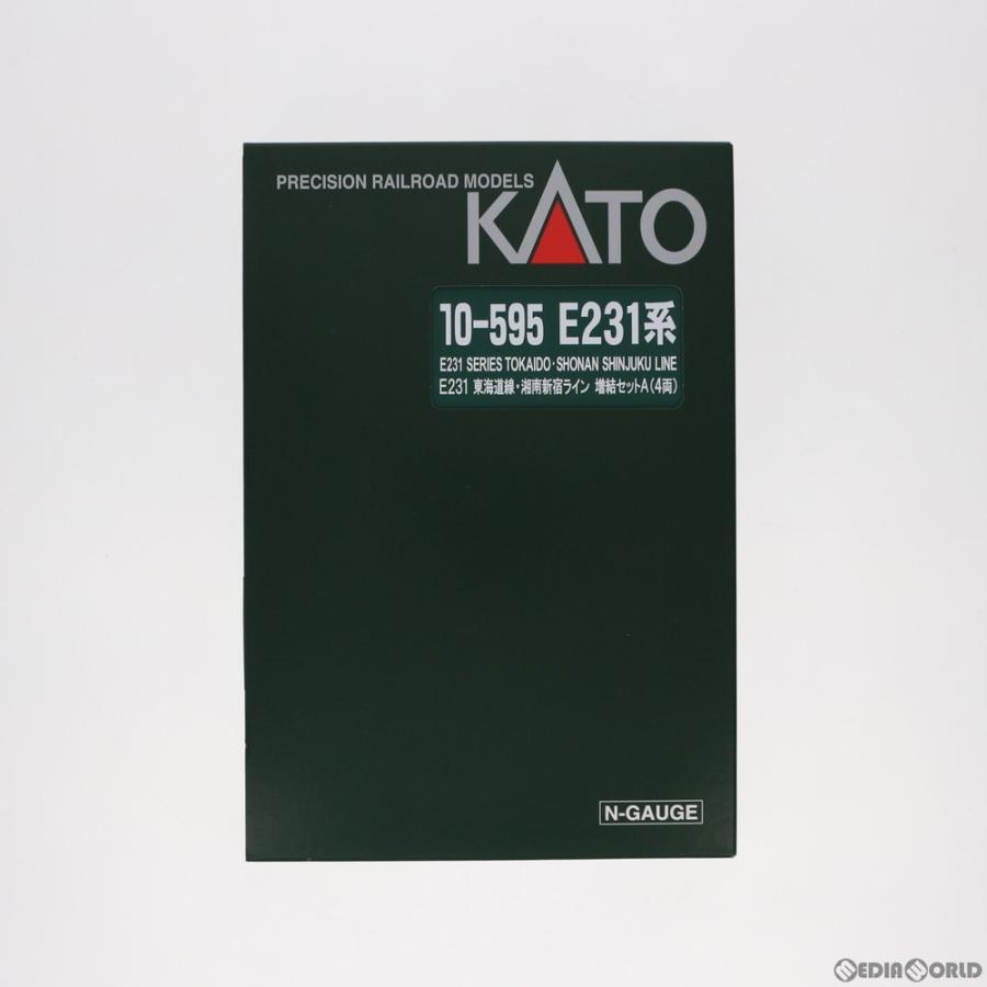 『新品』『O倉庫』{RWM}10-595 E231系 東海道線・湘南新宿ライン 増結Aセット(4両) Nゲージ 鉄道模型 KATO(カトー)(20090331)